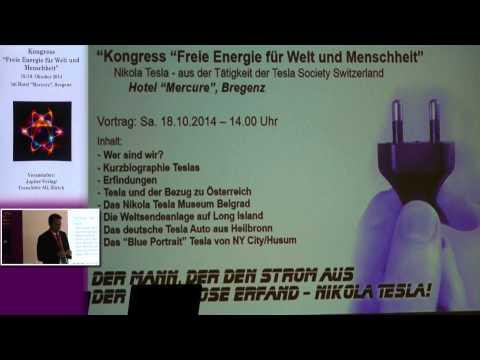 1/2: Peter Kaiser: Nikola Tesla - aus der Tätigkeit der Tesla Society Switzerland