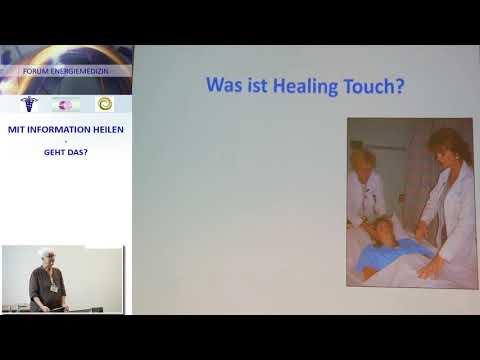 Vortragsausschnitt | Energiemedizin | Healing Touch: heilsame Berührung in der Praxis | Beate Grabow