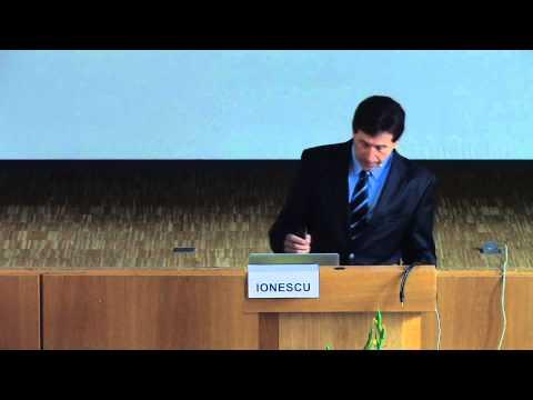 1/2: Dr. John G. Ionescu: Relevanz von Redox- und pH-Verschiebungen im Tumorgewebe