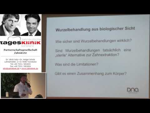 1/2: Dr. Dominik Nischwitz: Diagnostische Möglichkeiten bei wurzelkanalbehandelten Zähnen