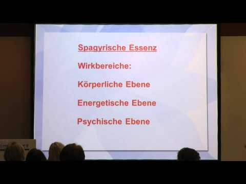 1/2: Dr. med. Hartmut Mammat: Spagyrik in der energiemedizinischen Praxis