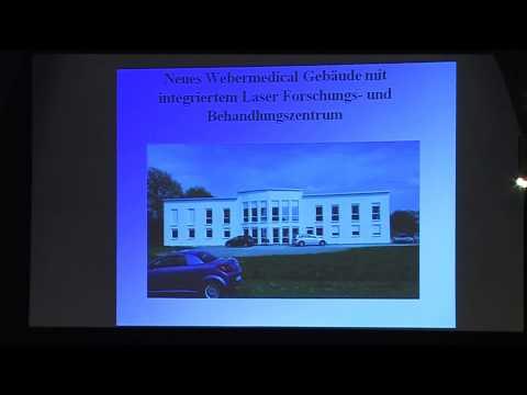 1/3: Dr. med. Michael Weber: Neue Wege in der fotodynamischen Krebsbehandlung mit LASER