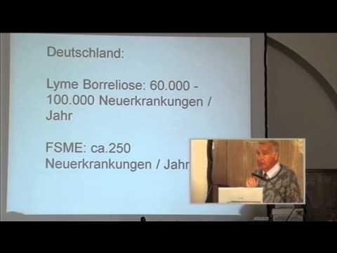 1/3: Prof. Dr. Herbert Schmitz: Zunahme humaner Infektionen durch Zecken
