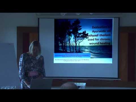 1/2: Dr.T.Tracevska: Auswertung des ayurvedischen Präparates Jathyadi thailam bei chronischen Wunden