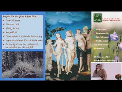 Vortragsausschnitte | Altern | Naturheilkonzepte ab der Menopause von Frau und Mann|Margret Madejsky