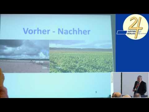 """1/2: Madjid Abdellaziz: """"Desert Greening"""" und """"Sphären-Akupunktur"""" harmonisieren das Wetter"""