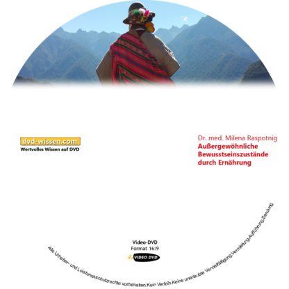 Dr. phil. Milena Raspotnig: Außergewöhnliche Bewusstseinszustände durch Ernährung 1 DVD-Wissen - Experten Know How - Dokus, Filme, Vorträge, Bücher