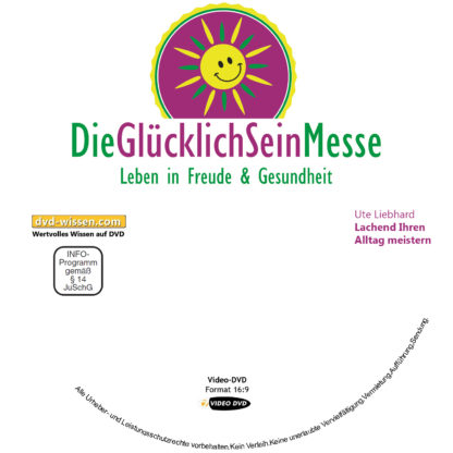 Ute Liebhard: Lachend Ihren Alltag meistern! 1 DVD-Wissen - Experten Know How - Dokus, Filme, Vorträge, Bücher