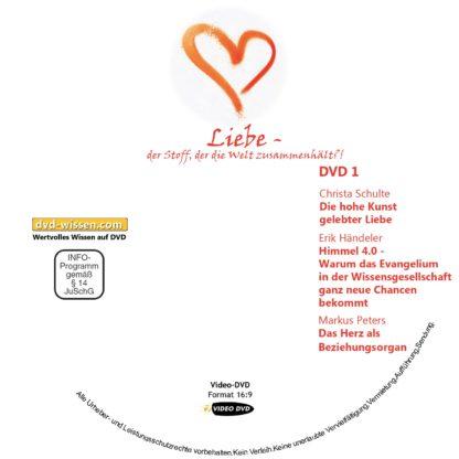 """Komplettpaket Symposium """"Liebe - der Stoff, der die Welt zusammenhält?!"""" 2018 1 DVD-Wissen - Experten Know How - Dokus, Filme, Vorträge, Bücher"""