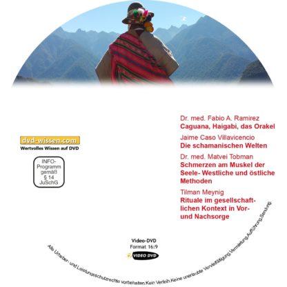 Orakel, Schamanische Welten, Iliopsoas, Rituale, 4 Kurzvorträge 1 DVD-Wissen - Experten Know How - Dokus, Filme, Vorträge, Bücher