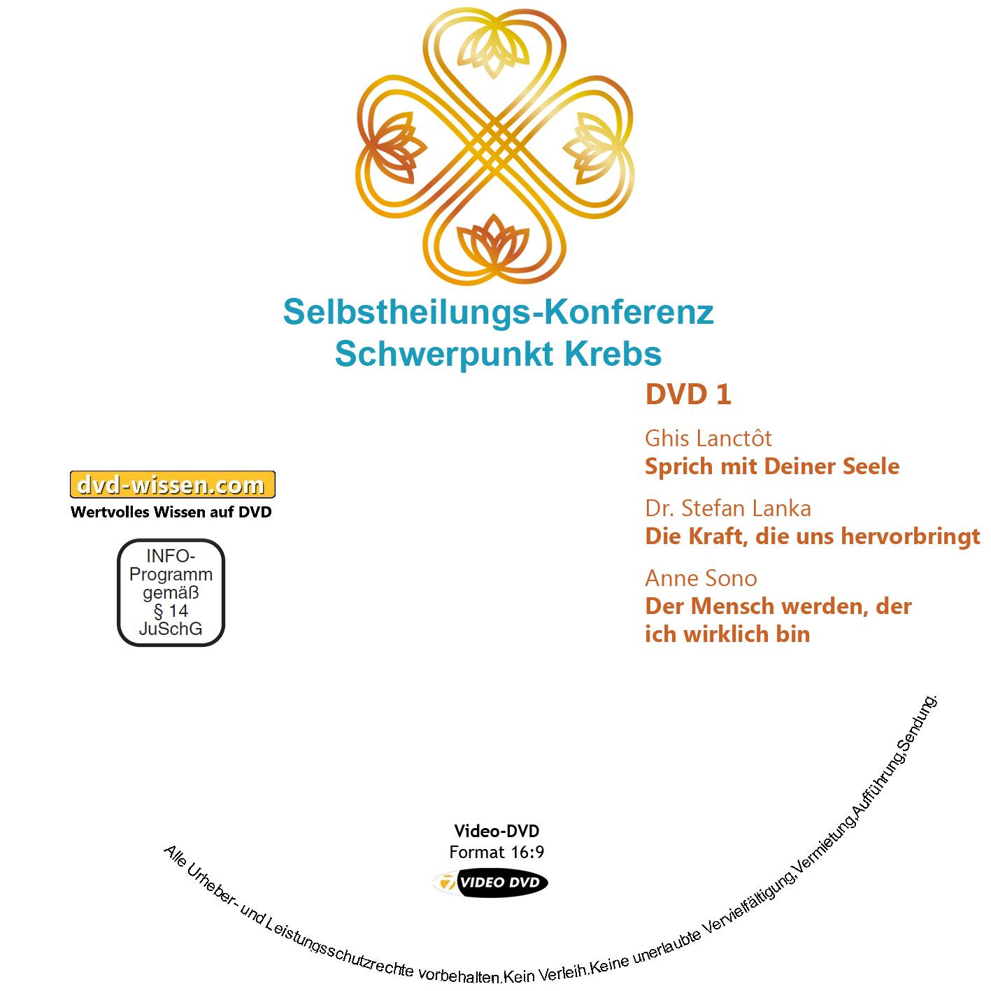 Selbstheilungs-Kongress, Schwerpunkt Krebs, DVD-Komplettpaket