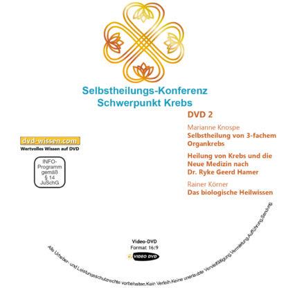 Selbstheilungs-Kongress, Schwerpunkt Krebs, DVD-Komplettpaket 2 DVD-Wissen - Experten Know How - Dokus, Filme, Vorträge, Bücher