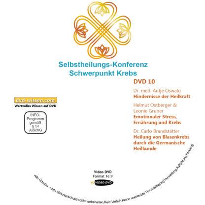 Selbstheilungs-Kongress, Schwerpunkt Krebs, DVD-Komplettpaket 10 DVD-Wissen - Experten Know How - Dokus, Filme, Vorträge, Bücher