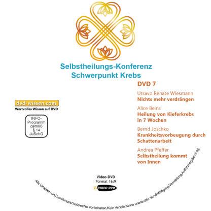 Selbstheilungs-Kongress, Schwerpunkt Krebs, DVD-Komplettpaket 7 DVD-Wissen - Experten Know How - Dokus, Filme, Vorträge, Bücher