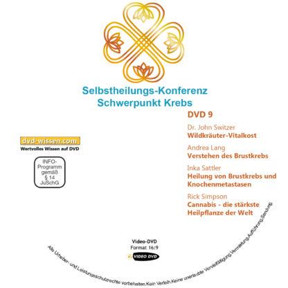 Selbstheilungs-Kongress, Schwerpunkt Krebs, DVD-Komplettpaket 9 DVD-Wissen - Experten Know How - Dokus, Filme, Vorträge, Bücher
