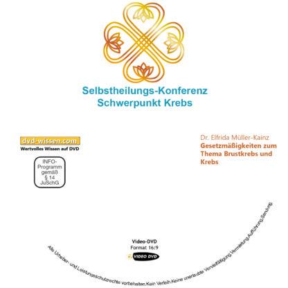 Dr. Elfrida Müller-Kainz: Gesetzmäßigkeiten zum Thema Krebs und Brustkrebs 1 DVD-Wissen - Experten Know How - Dokus, Filme, Vorträge, Bücher