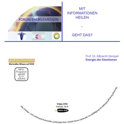 Prof. Dr. med. Albrecht Hempel: Energie der Emotionen 1 DVD-Wissen - Experten Know How - Dokus, Filme, Vorträge, Bücher