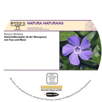 Margret Madejsky: Naturheilkonzepte ab der Menopause von Frau und Mann (Vertiefungsseminar) 1 DVD-Wissen - Experten Know How