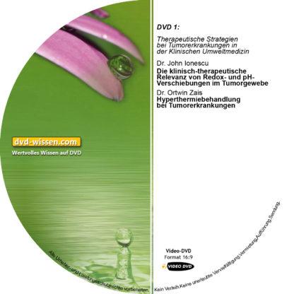 Teil 1: Therapeutische Strategien bei Tumorerkrankungen in der Klinischen Umweltmedizin 1 DVD-Wissen - Experten Know How - Dokus, Filme, Vorträge, Bücher